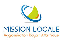 logo mission locale agglomération royan